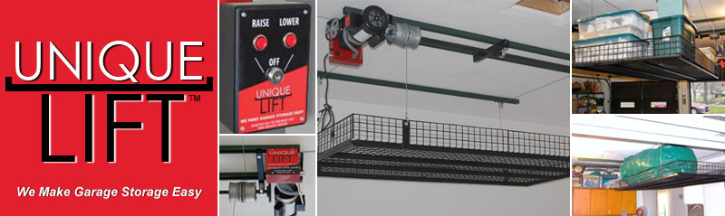 Unique Lift | We Make Garage Storage Easy