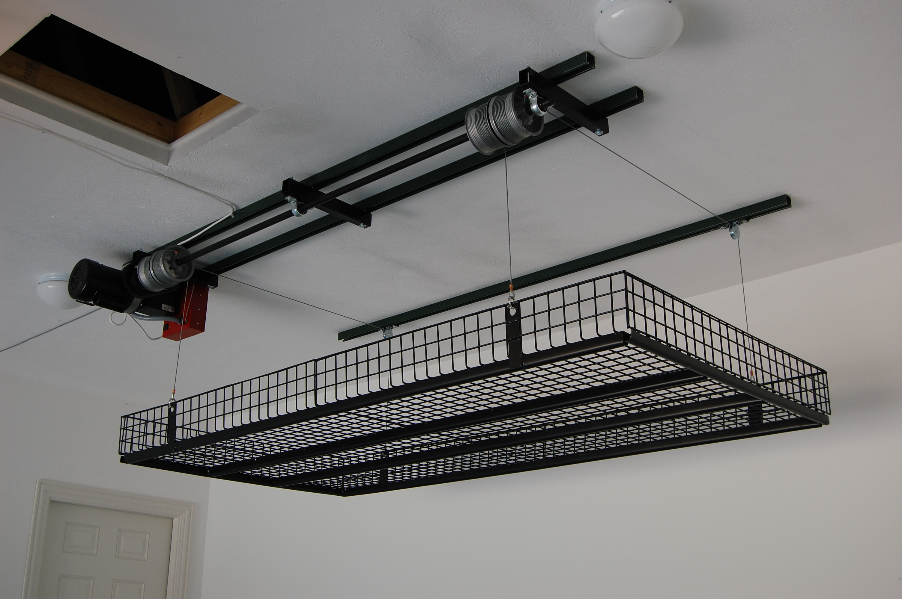 Unique Lift Garage Ceiling Storage