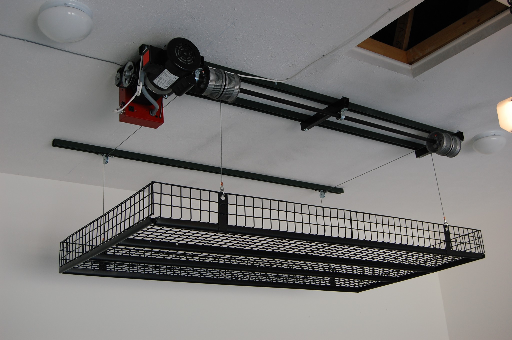 Garage Ceiling Storage Gallery Unique Lift